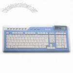 Multimedia Keyboard with Calculator and LCD Display
