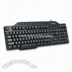 Multimedia Keyboard without Palm Rest and PS/2 Plug