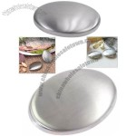 Multipurpose Magic Oval Shape Stainless Steel Soap for Removing Odor