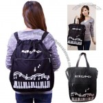 Music Canvas Backpack