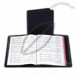 Music Choral Folder with Strings