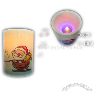 Music LED Light Candle