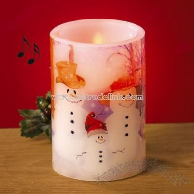 Musical Flameless Candle