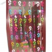 Musical Note Design PVC Door Curtain