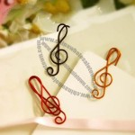 Musical Note Shaped Paper Clips