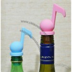 Musical Note Silicone Wine Bottle Stopper