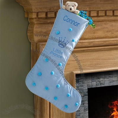 My Little Prince Embroidered Stocking