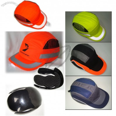 NEW Design Safety Reflective Bump Cap with LED Light