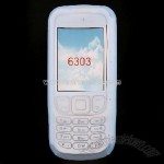 NOKIA 6303 Light Blue Silicone Case