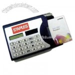Namecard box with calculator