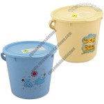 Nappy Pail with Lid, 15 litres Water Capacity