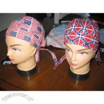 National Flag Bandana Caps, Bandanna Hat