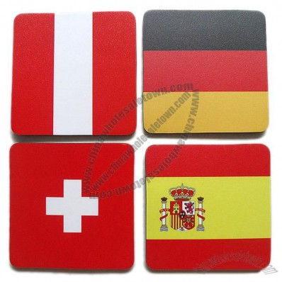 National Flag Coaster Mousepad Placemat