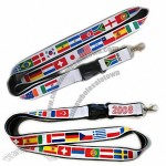National Flag Lanyards for 2014 World Cup
