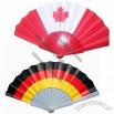 National Flag Printed Folding Fan