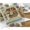 Natural Bamboo Eco-Friendly Coaster Favors