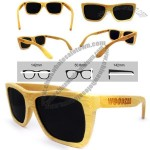 Natural Bamboo Sunglasses 100% UV Protection Eyeglasses
