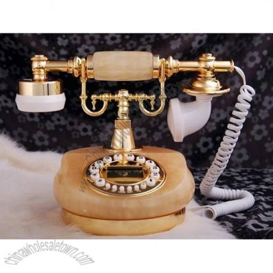Natural Jade Antique Telephone