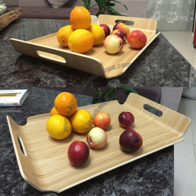 Natural Wooden Fruit Tray
