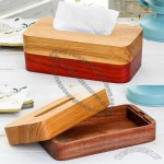 Nature Wooden Dinning Room Tissue Box