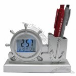 Navigation Pen Holder Clock