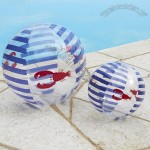 Navy Lobster Beach Balls