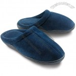 Navy Memory Foam Slippers