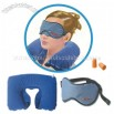 Neck Pillow & Eye Mask Travel Set with Pouch