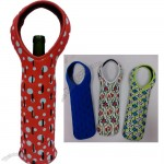 Neoprene Fishnet Wine Bottle Tote Bag