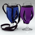 Neoprene Wine Glass Holder