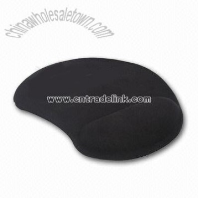 Neoprene and Cloth Wrist Rest Mouse Pad