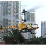 New 3 Channel RC Helicopter With Colourful Light and Burning