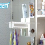 New Automatic Toothpaste Dispenser Touch Me Brush holder SET
