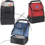 New Connections Dual Compartment Lunch Cooler Bag