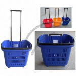 New Design 34L Rolling Shopping Baskets