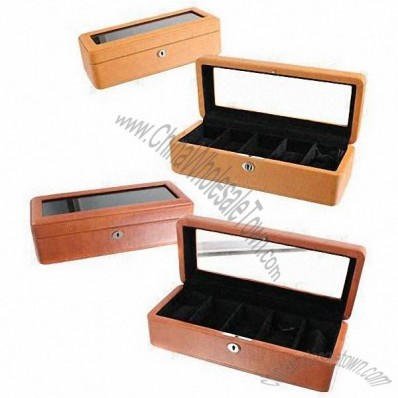 New Design 5pcs Watch Box With Window
