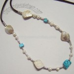 New Design Shell & Pearl Necklace