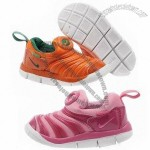New Kid's Sport Shoes with Leather Upper and Rubber Outsole, Fashionable, Portable, Colorful