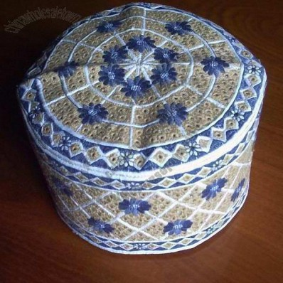 New Pattern Omani Cap