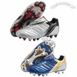 New Style Men's Soccer Shoes with PU Upper and TPU Outsole Materials