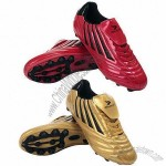 New Style Men's Soccer Shoes with PU Upper and TPU Outsole