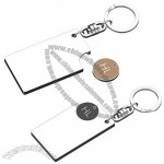 New Style Shopping Trolley Coin with Keyring