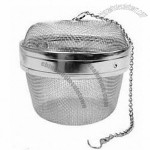 New Twist-Lock Spice Ball Tea Infuser Herb Infuser
