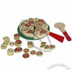 New Wooden Pizza Toy for Kids