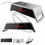 Newest Touch Screen Bluetooth Speaker with Alarm Clock