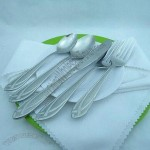 Nice Sandblasted Stainless Steel Cutlery Set