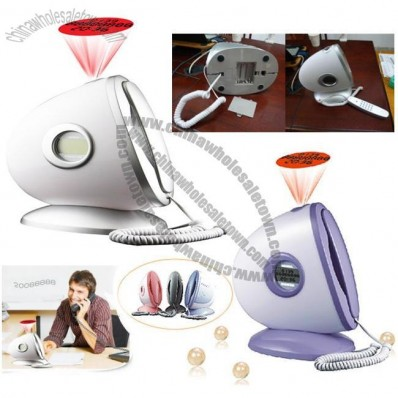 Night Light LED Projector Lamp Telephone