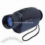 Night Vision Monocular with Magnification