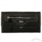 Nine West Front Pocket Checkbook Secretary
