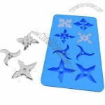 Ninja Shaped Silicon Ice Cube Tray